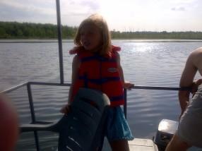Sunshine on the boat